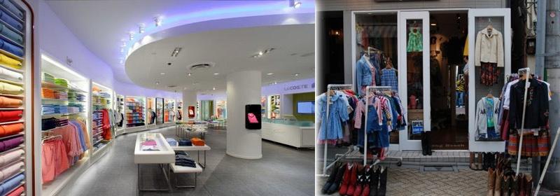Qual das lojas chama mais a sua atenção?