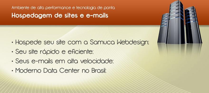Hospedagem de sites e e-mails