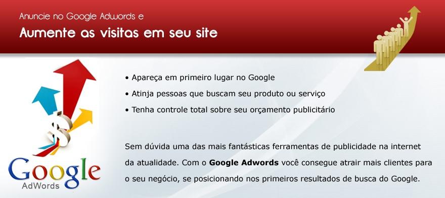 Links patrocinados no Google Adwords