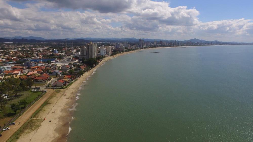 Foto tirada com Drone em Balneário Piçarras